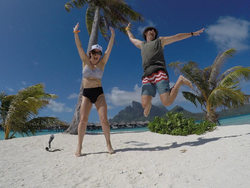 Bora Bora jump shot