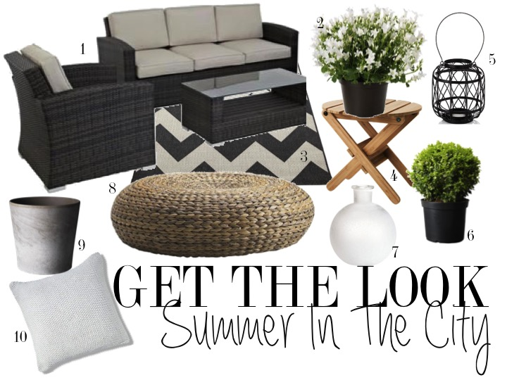 Summer in the City - get the look