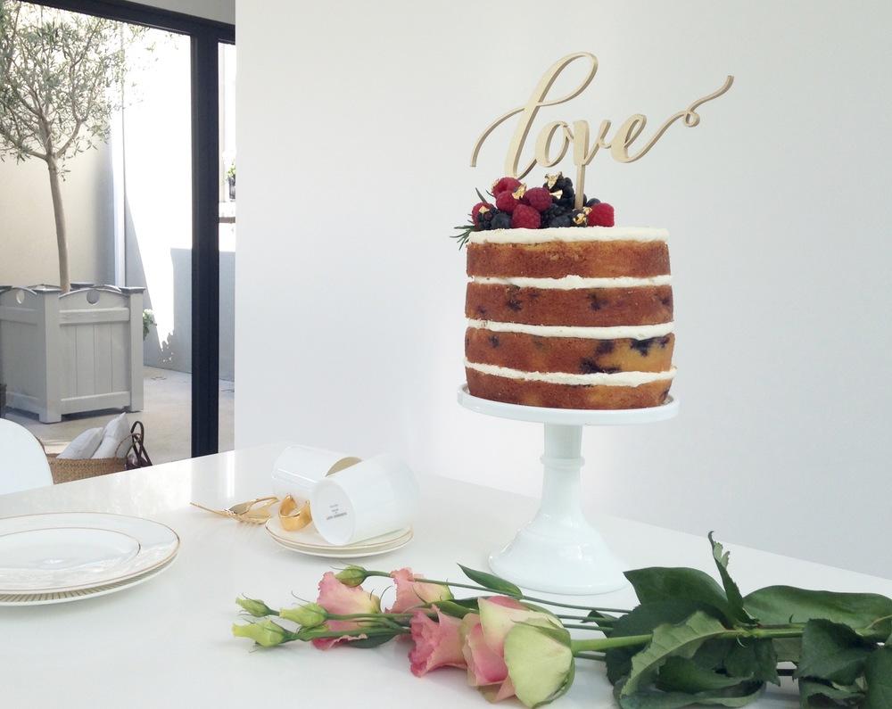 Cove cake design