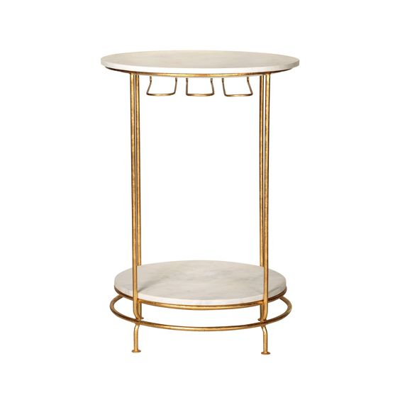 Gold Luxe Bar Table