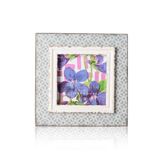 Grey Geo Brights Frame