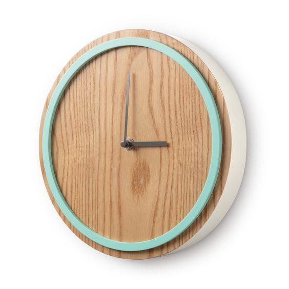 Mint Elo Wall Clock