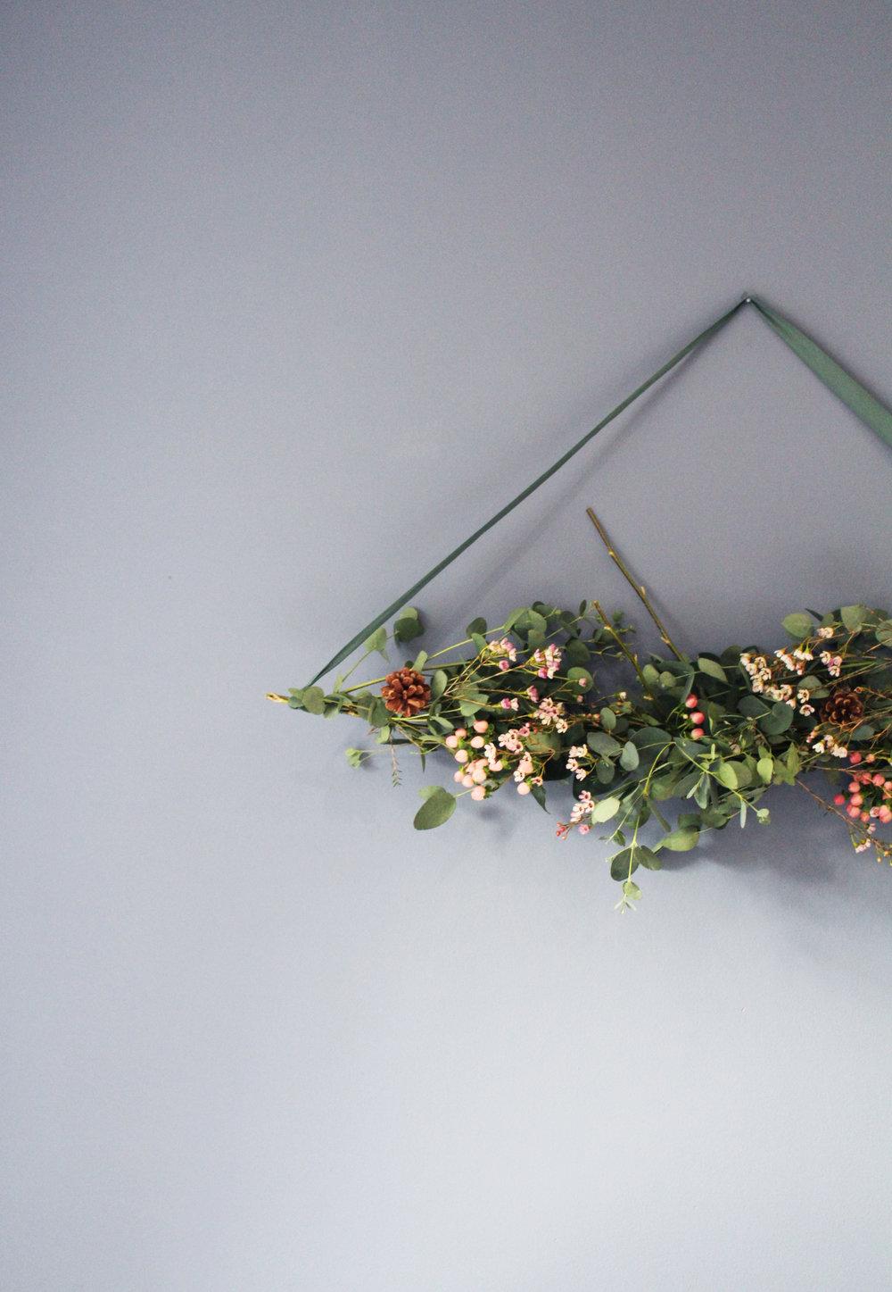 floral hanging
