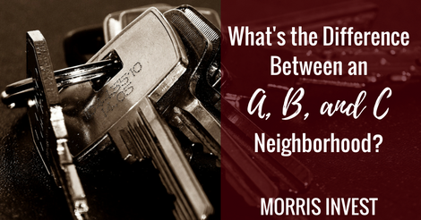 What S The Difference Between An A B And C Neighborhood Morris
