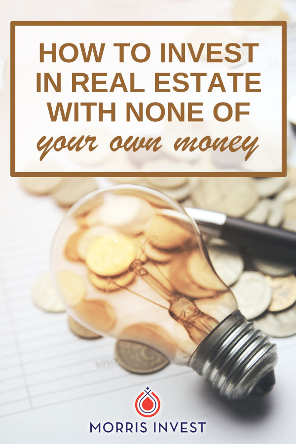 Lots of people do real estate investing without having their own money. How? I have two words for you: PRIVATE. MONEY.