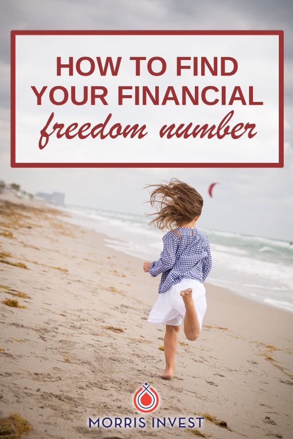 Understand your Freedom Number - passive income through real estate investing can be a great path to financial freedom!