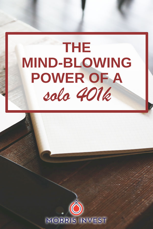 The mind-blowing power of a solo 401-k for your retirement investing.