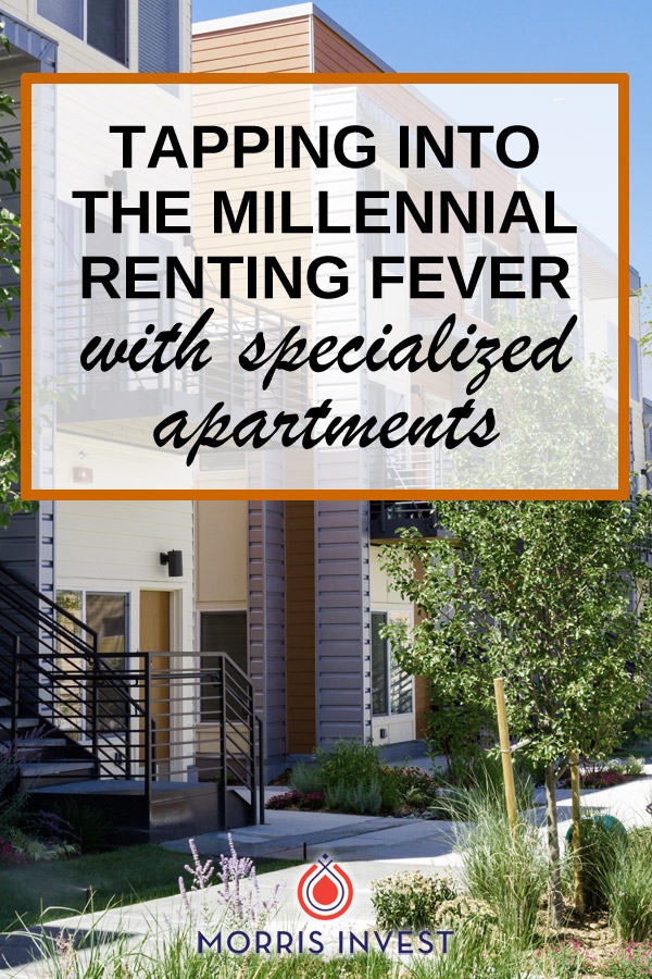 Millennials are not purchasing homes. They have foregone the traditional system of purchasing starter homes, and are renting instead. Here's how one real estate investor is tapping into that millennial market.