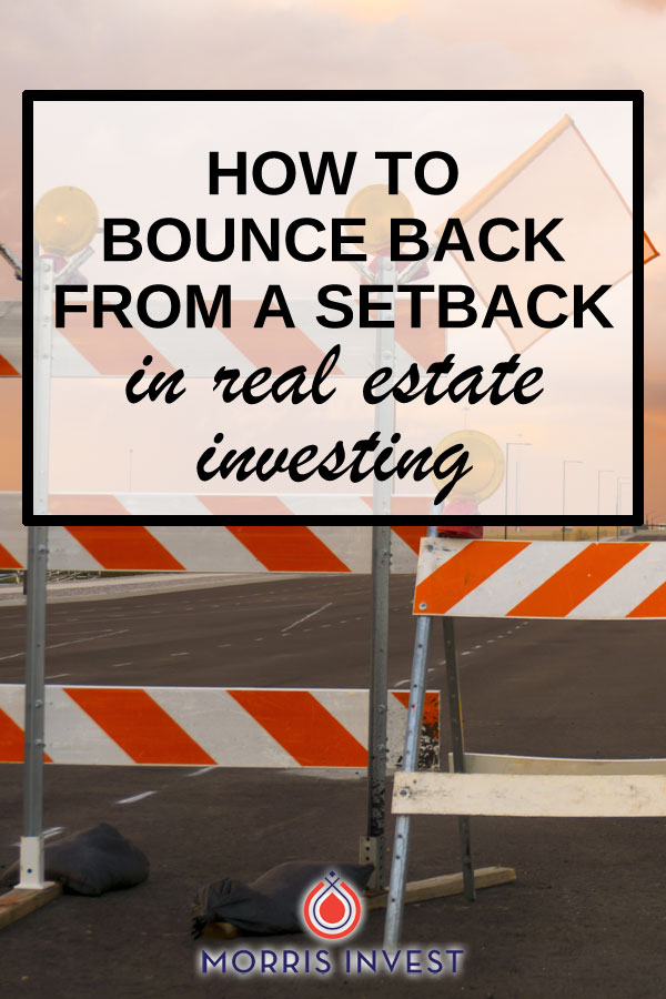 We've been cleaning up the mess from one of my past real estate failures. We talk about working through defeat as a team, and how to move forward confidently. When faced with a setback, there are lessons to be learned.