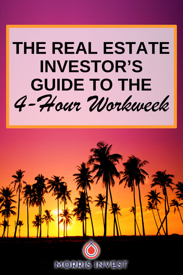 In the book  The 4-Hour Workweek  by Tim Ferris, there are three key principles that apply specifically to real estate investors that can help you earn passive income and reach financial freedom.