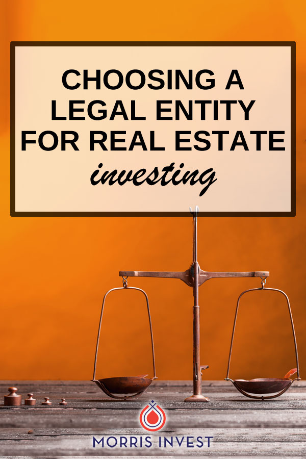 Here's what I know: it's imperative to purchase your rental properties under a legal entity. Doing so provides legal protection to your personal assets.