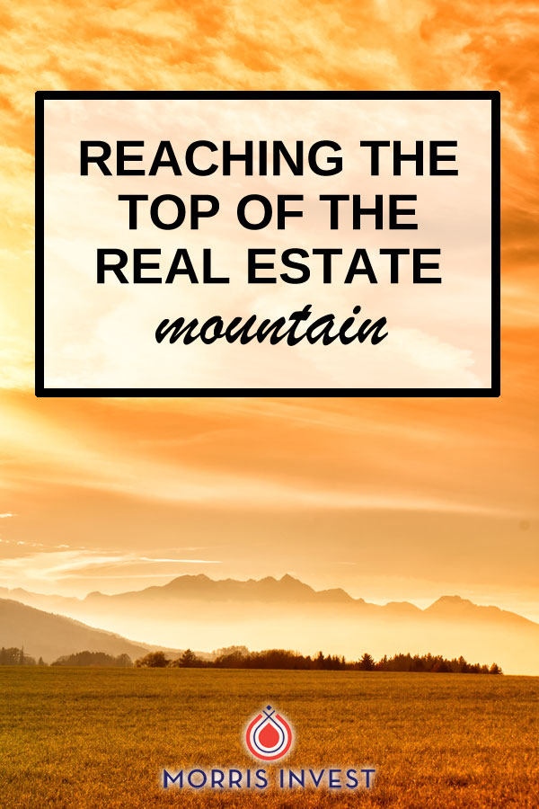 What it takes to reach the top of the real estate investing mountain. (Interview with Joel Block.)