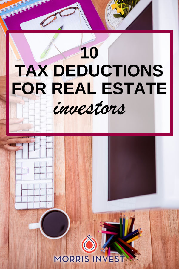 "My favorite tax accountant Tom Wheelwright likes to say, ""if you're a real estate investor and you're paying taxes, then you're doing something wrong!"" One of the top benefits of real estate investing is the enormous overall implication on your tax burden. Here are ten deductions your tax advisor should be accounting for if they apply in your situation."