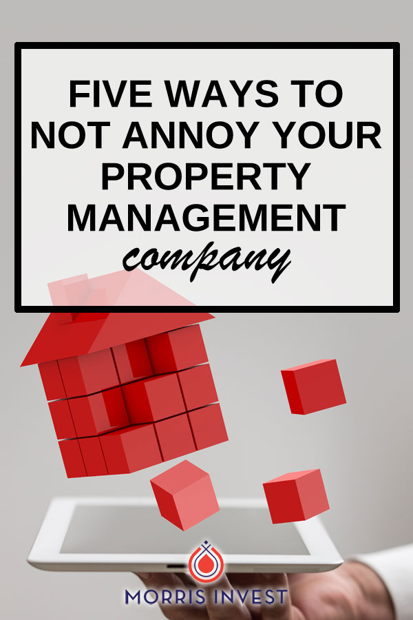A property management company finds the right tenants, collects the rent, and does all the legwork so you don't have to! You want them on your side, so here's how to be helpful & easy to work with as a real estate investor.