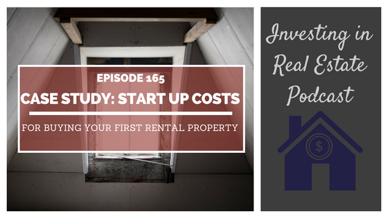 ep165 case study start up costs for buying your first rental property morris invest. Black Bedroom Furniture Sets. Home Design Ideas