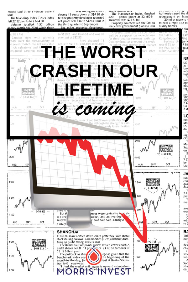 Many financial experts are forecasting an impending economic crash. Most recently, I saw an interview in which legendary investor Jim Rogers predicted the worst crash in our lifetime, coming either this year or next year.