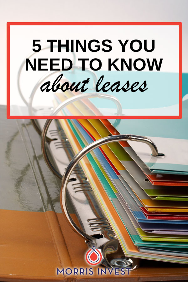 In my experience as a landlord and real estate investor, there are five big details you need to take into account when figuring out how to construct a lease as a landlord.