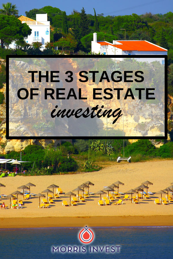 Walks you through the stages of real estate investing, including when you should expect to reach each one.