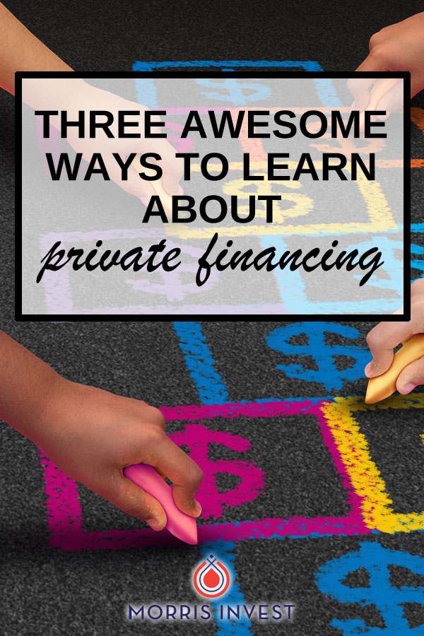 If you're interested in purchasing your next real estate deal via private financing, it can be difficult to know where to start. These 3 resources are great!