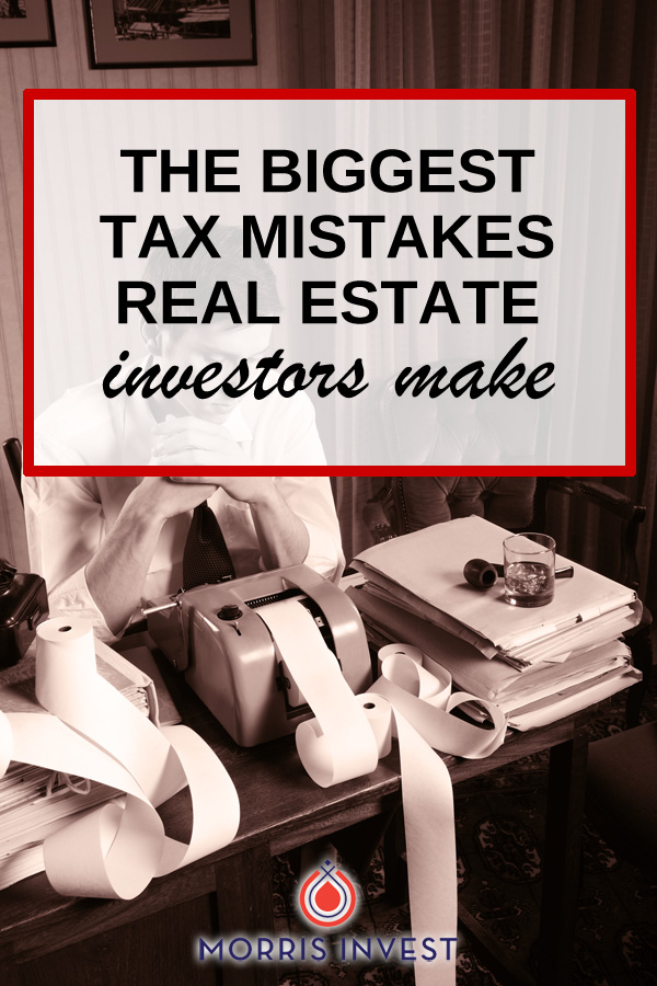 Craig Cody shares the biggest tax mistakes that real estate investors make, and give his predictions on the future of the tax code.