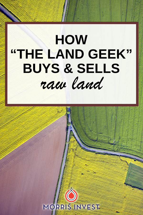 Mark walks us through the process and intricacies of buying and selling raw land. He's shares how he does market research, how to find a deal, and much more!