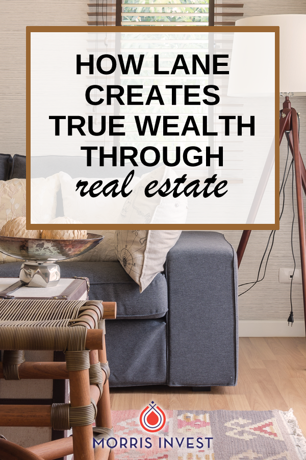 We discuss more about Lane's real estate strategy and how he's creating wealth. We'll discuss the specific details of his first two rental properties, and why investing in A class neighborhoods is a mistake.