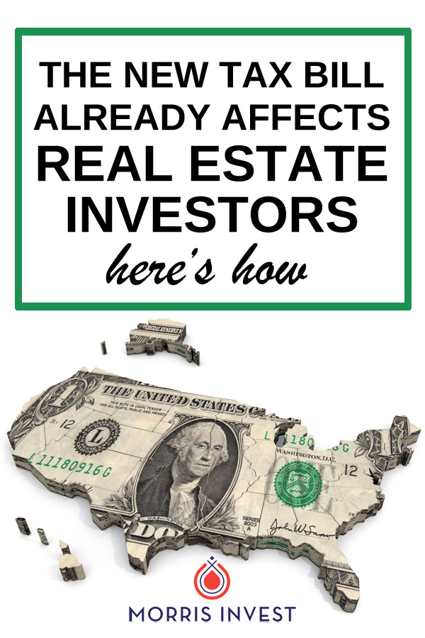 There's been a lot of buzz about how the new tax law will affect homeowners, but what are the implications for real estate investors? A new article suggests that real estate prices are being affected by the new rules. Here's how.