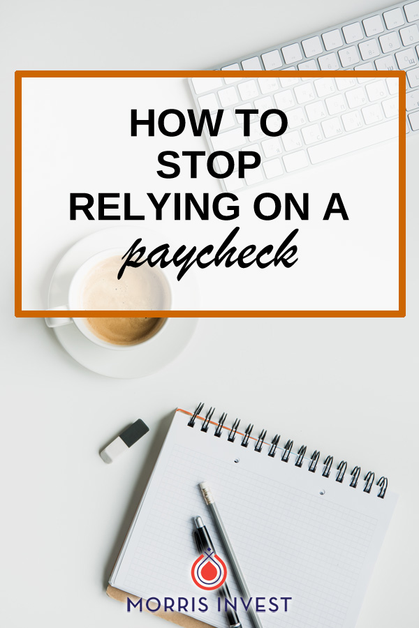 Most of us have been conditioned to believe that we have to go to commute every day, work from 9-5, and rely on a paycheck. That's not freedom. Achieving true financial freedom means making your money work for you. Here's how to stop relying on a paycheck!