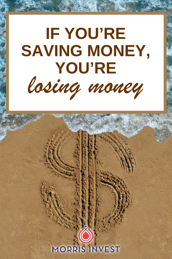 A new report shows that 66% of Millennials believe that their savings account will be sufficient in 20 years. On today's show I'm sitting down to discuss why this is a flawed way of thinking, and why savers are actually losers.