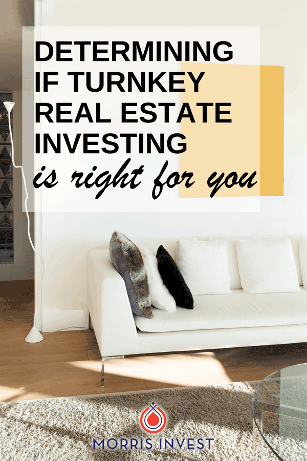 Is turnkey real estate investing right for you? This is an important question to ask yourself, because let's be honest: it's not for everyone.