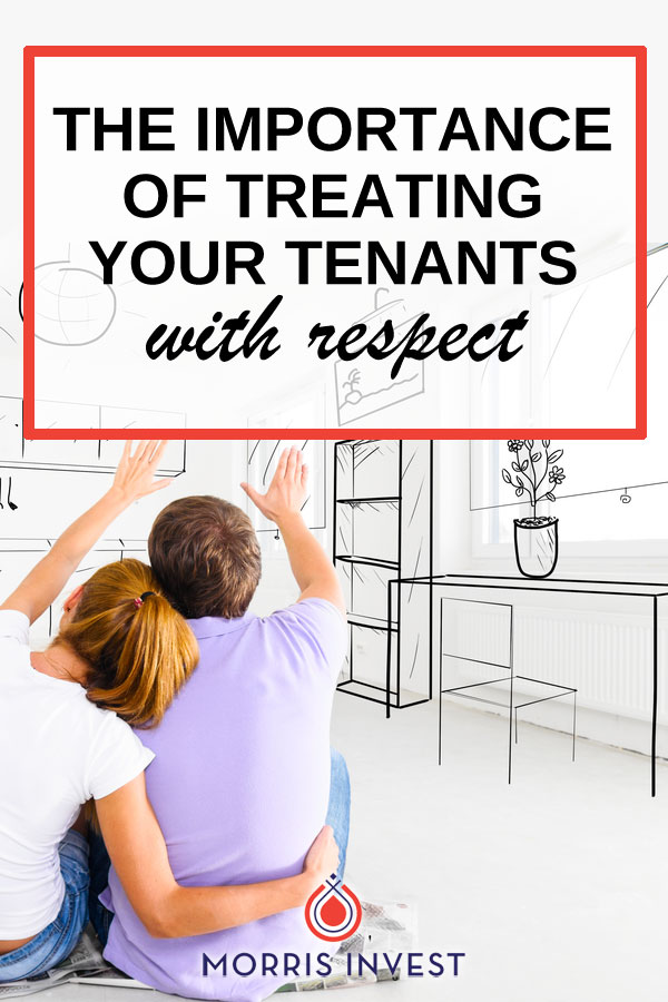 In our real estate business, our philosophy is to treat our tenants well. We do this for several reasons...