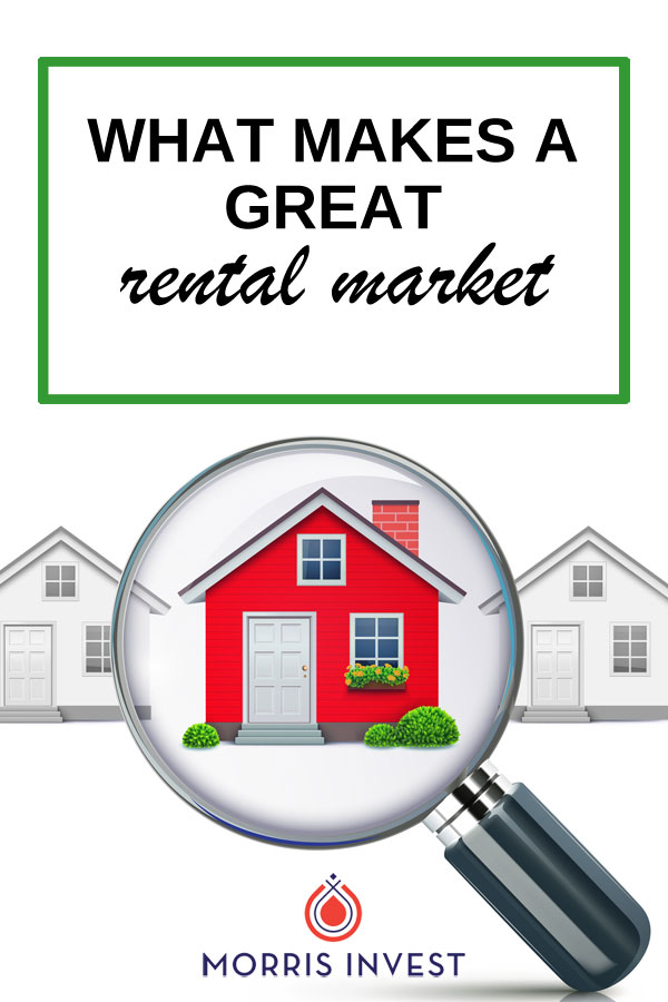 There are a number of key indicators you could measure while assessing a rental market, but these are the five that I personally care about most when considering investing in a rental market