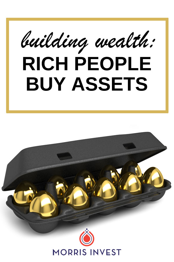 How to build your net worth by attaining assets, and why it's so important.
