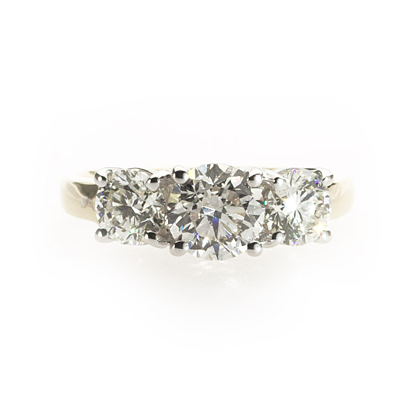 Grace 3 Stone Ring