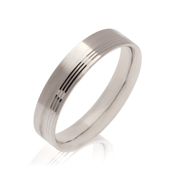 Saturn Men's Wedding band Ring