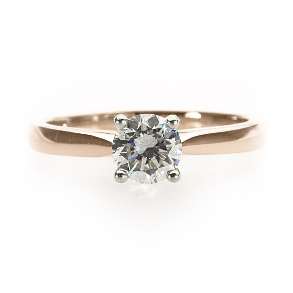 Primrose Solitaire Ring
