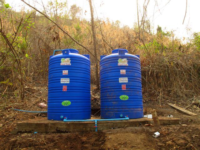 4,000 Liters of Storage