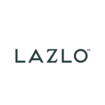 Lazlo · Brand development; research, brand logo/system, website, videos, social media and collateral · Lazlo In partnership with Who's That? and Stephen McGee Films