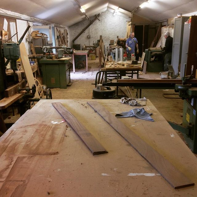 Grandads workshop still going after 48 years! #woodworking #joinery #wood #timber #design #oldschool #machinery