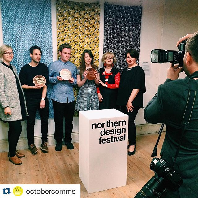 #Repost @octobercomms with @repostapp. ・・・ Congratulations to the winners of the 2015 Northern Design Festival Awards - well deserved @terrariumdesigns @novocastrianco @jakebarkerdesign 🙌 #designevent #northerndesignfestival