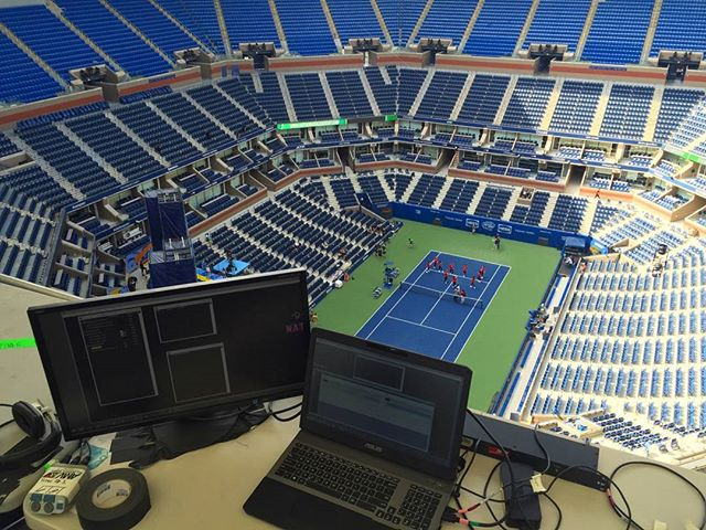 We're at Arthur Ashe all weekend to bring you an exciting #USOpen opening ceremony experience Monday night! Watch for it on ESPN 2 at 7:30.