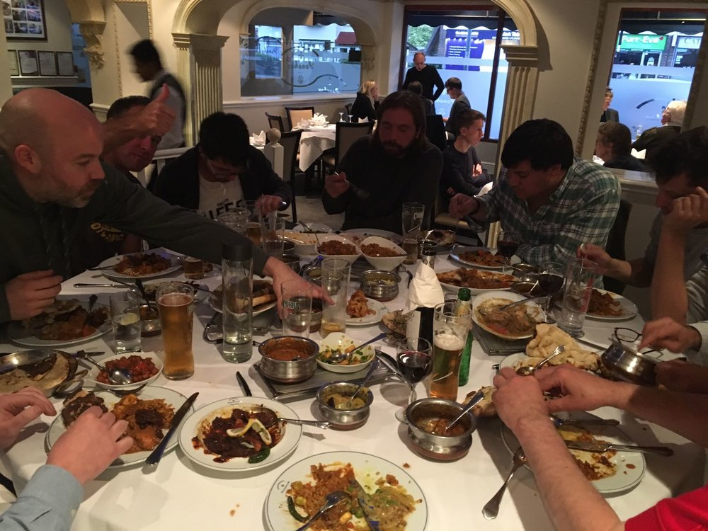 curry cricket village woodpeckers sanderstead traditional english summer day