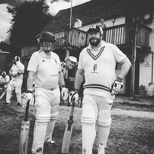 Record-breaking opening partnership. #NotForRuns #OnTheScales #GirdleAndTheCannon