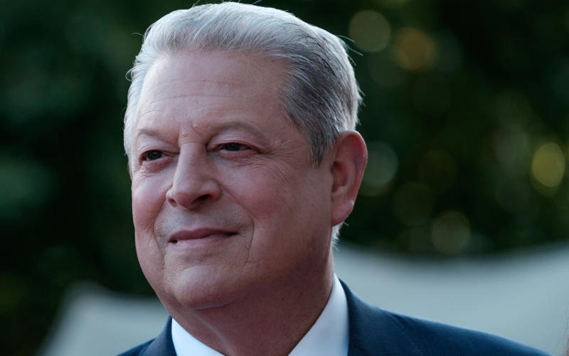 Former vice president Al Gore in 2017. REX FEATURES VIA AP IMAGES