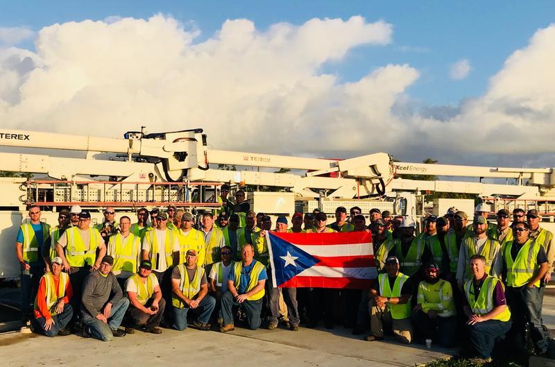 Texan Volunteers in Puerto Rico  XCEL ENERGY