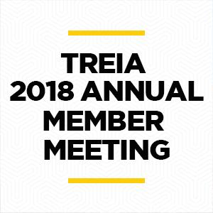 Feb 1, 2018   TREIA Annual Member Meeting