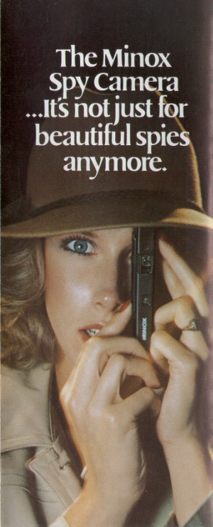 Minox advertising from 1970