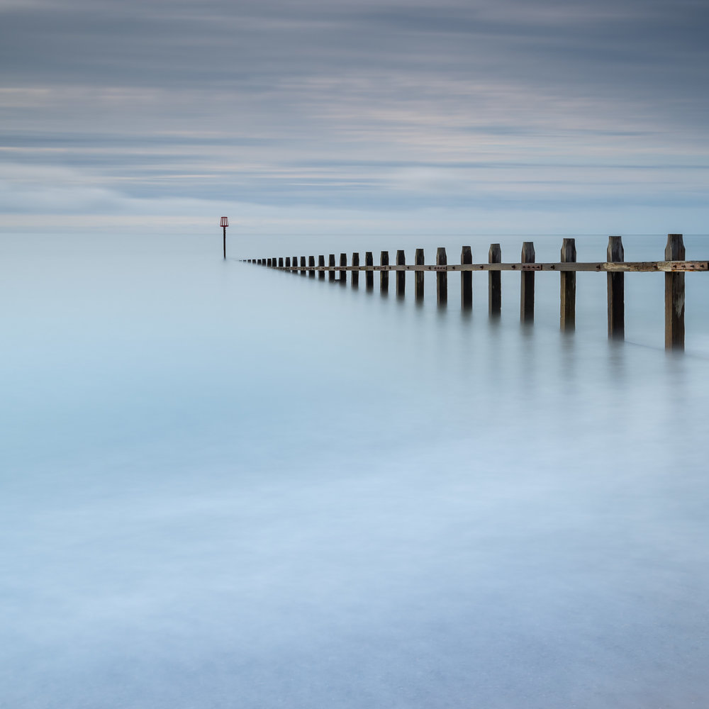 I created this image of a groyne on Dawlish Warren after being inspired by the work of my photography mentor Ross Hoddinott.