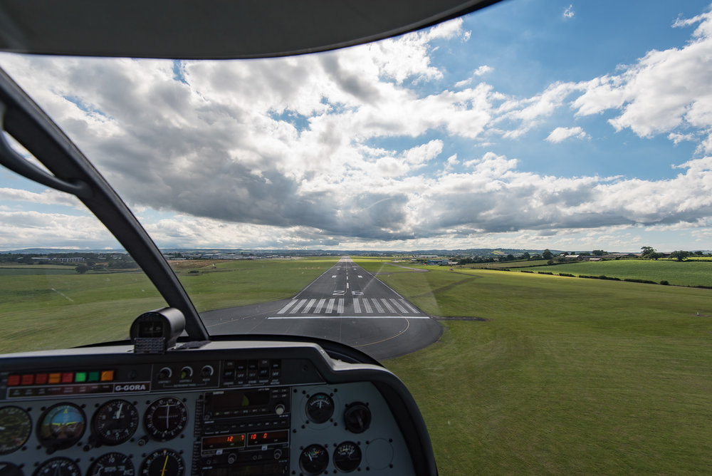 As with photography it's important to practice flying, particularly your landings!