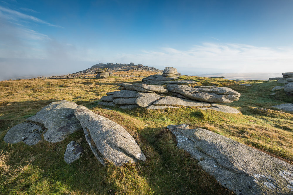 Belstone Tor from Higher Tor (2015)